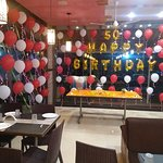50th Birthday of a Guest at Delight Foods, Mahabaleshwar