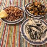 Sea food mezes