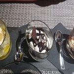 Tris di gelati