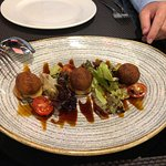 smoked oxtail croquettes