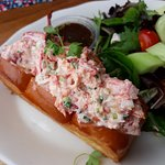 My New England friend really liked the Lobster Roll!
