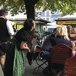 Φωτογραφία: Biergarten Viktualienmarkt