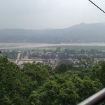 veiw of haridwar fom cable car to mansa devi temple