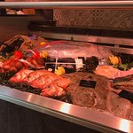 A specialized assortment of fresh fish