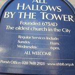 Foto di All Hallows By The Tower