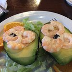 Avocado and prawns - the best I have ever tasted