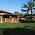 Photo of Frank Lloyd Wright's Darwin D. Martin House Complex