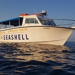 Seashell dive centre's brand new boat