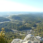View from pinnacle point at Cumberland Gap Park