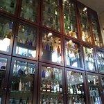 Liquor Wall Behind the Bar