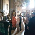 Wedding in Metekhi Cathedral