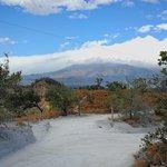 view on vulcano