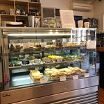 Pictures of the inside peninsula pantry