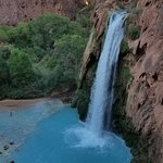 Havasupai Falls located in the Grand Canyon and on one of the most remote Indian Reservations