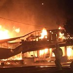 Waipu cafe deli, Chemist and Herbal shop well ablaze