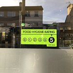 "Our ""Hygiene Rating"" has been upgraded to 5 Star (was 4-Star previously)"