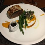 Beef Wellington - perfectly cooked to order