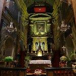 Altar da Chiesa de Santa Cristina.