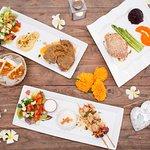 Lamb Chops - Tuna Steak - Chicken Teriyaki - Pita Bread