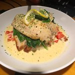Jenny's Catch with Lobster Butter Sauce