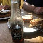 bread and vinegar