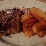 Superb steak, before