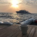 Fancy a cuppa in between dives? Surface interval spent well