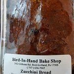 Zucchini bread from the bake shop