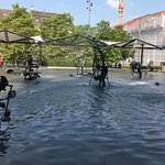The Fountains in Tinguely , Basel