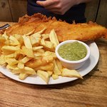 large fish and chips