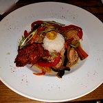 Curry de poulet Thaï