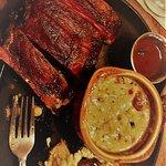 ribs and corn chowder