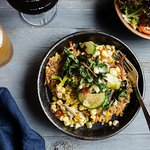 Great vegetarian options, like our Buddha Bowl