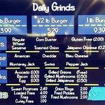 The Burger Menu...