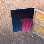 stinkender Abfall beim Zimmerausgang