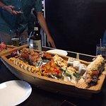 Sushi boat at Nara