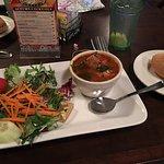 Salad and Sausage Soup