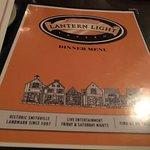 Fred & Ethel's Lantern Light menu cover