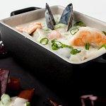 Chaudrée de fruits de mer // Seafood chowder