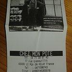 CHEZ MON POTE