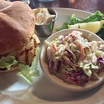 Halibut sandwich $14.95