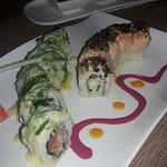El mejor de los shuchi de cartagena salmon gaucho mitsuki roll costeño al panko pizza oconomilla