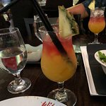This drink was Yummmmm! After all the meat we had.. it was definitely needed!