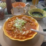 Spicy Red Pozole
