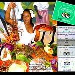 #1 en Farallón Bienvenidos-Mariscos / Bienvenue-Fruits de mer / Welcome - Seafood
