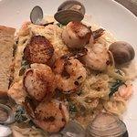 Seafood Linguine!