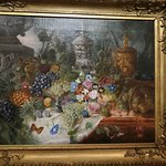 Still life from 1862 'Fish, fruit, and flowers'
