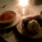 Creme brulee and chocolate oblivion