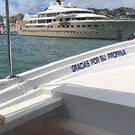 Really, Really big yacht in the marina