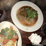 Beef and vegies were terriffic